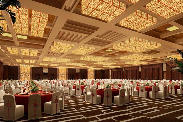 大型会议室宴会厅方案设计